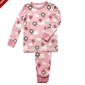 Other - Silkberry Baby pink cloud balloon pajamas
